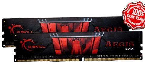 16 Go (2 x 8 Go) DDR4-3000 G.Skill DIMM