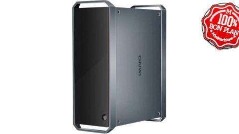 "MiniPC Chuwi GT Box i3-5005U 8Go / 256Go + 2.5"" SATA 3"