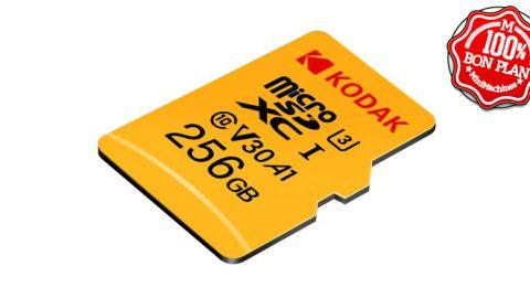 Carte MicroSDXC 256 Go Kodak