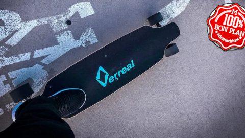 Skate électrique Alfawise Verreal VRLF1001