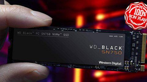 SSD WD Black SN750 500 Go M2 PCie NVMe