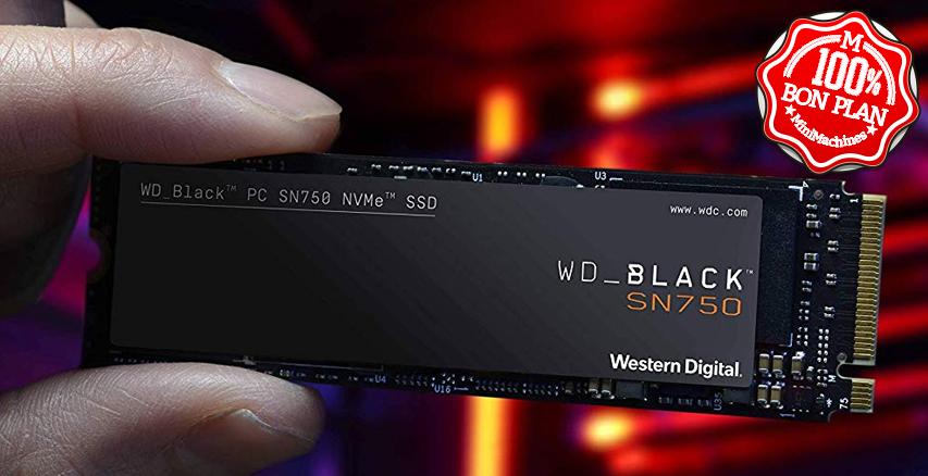 SSD WD Black SN750 SE 500Go M2 PCie NVMe