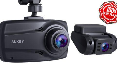 Dashcam double avant et arrière Aukey DR03 1080P