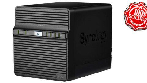 SOLDES Serveur de stockage NAS Synology DS418j