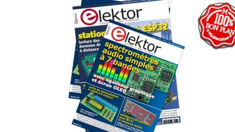 Un an d'abonnement au magazine Elektor