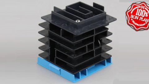 Jouet : Cube labyrinthe à bille multi couches