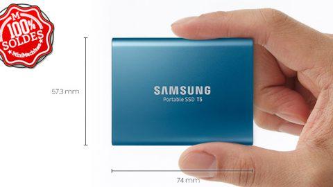 SOLDES : SSD Externe Samsung T5 500 Go