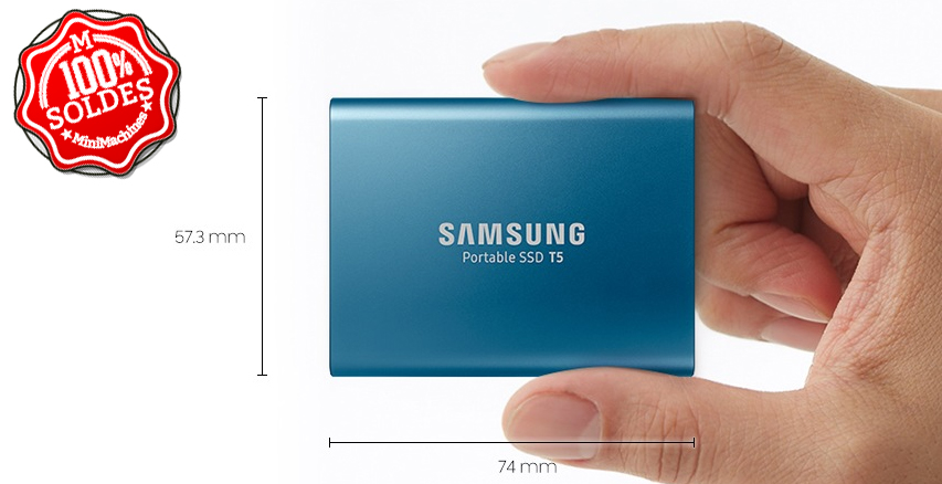 SSD externe Samsung Portable T5 500 Go