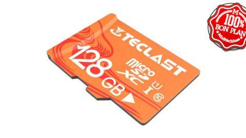 Carte MicroSDXC 128Go Teclast UHS-1 - U1 - Class10