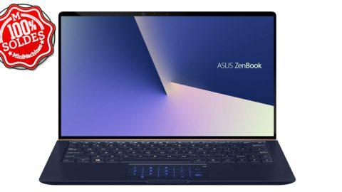 """SOLDES : Asus Zenbook 13.3"""" Core i7-8565U - 8/256Go - MX150"""