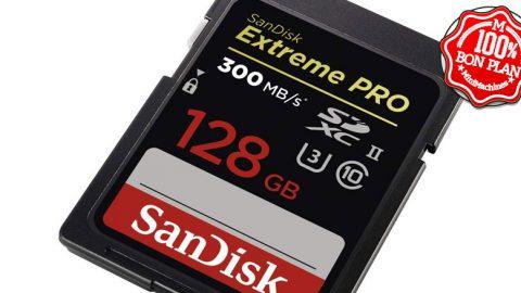 Carte SDXC Sandisk Extreme Pro 128 Go