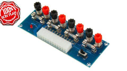 Adaptateur d'alimentation ATX Geekcreit XH-M229