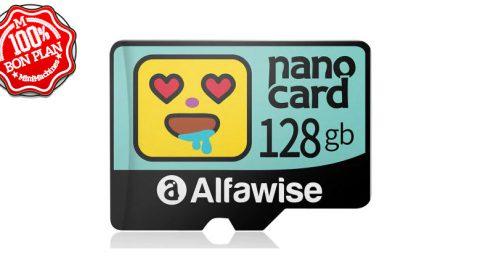 Carte MicroSD 128Go Alfawise Nano Card
