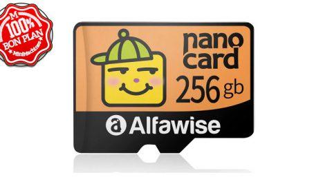 Carte MicroSD 256Go Alfawise Nano Card