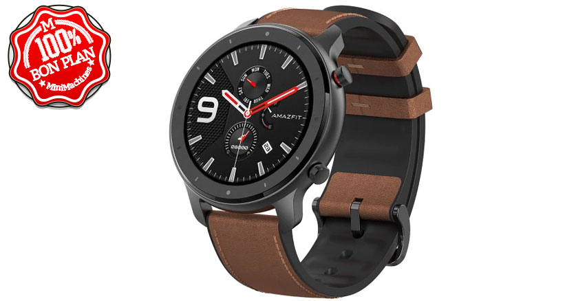 Montre Xiaomi Amazfit GTR 47mm Aluminium version Internationale