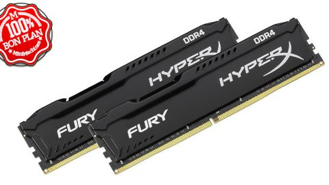 Kit mémoire HyperX FURY DDR4 16Go (2x8Go)