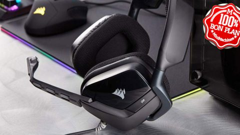 Casque Gaming Corsair  Noir Carbone