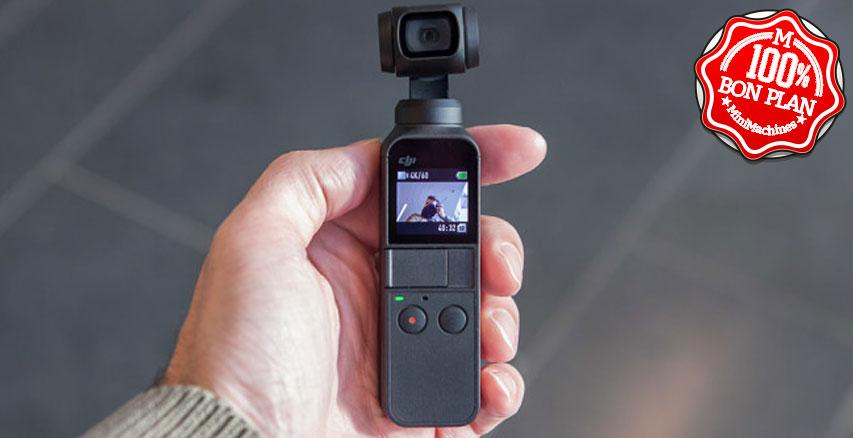 Caméra stabilisée DJI Osmo Pocket + caisson étanche