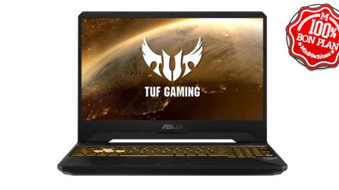 Portable Asus TUF 505DD Ryzen 5-3550H 8/256Go GeForce GTX1050 3Go