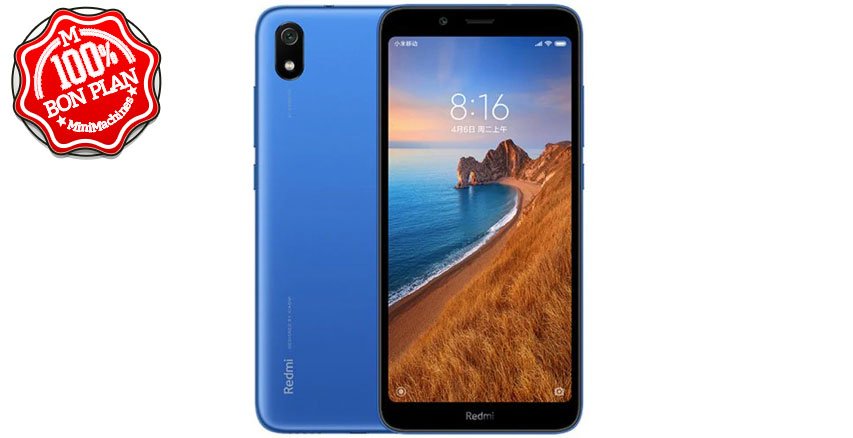 Smartphone Xiaomi Redmi 7A 2/32Go Bleu