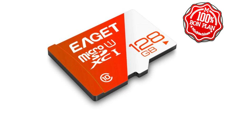 Carte MicroSDXC Eaget T1 128Go