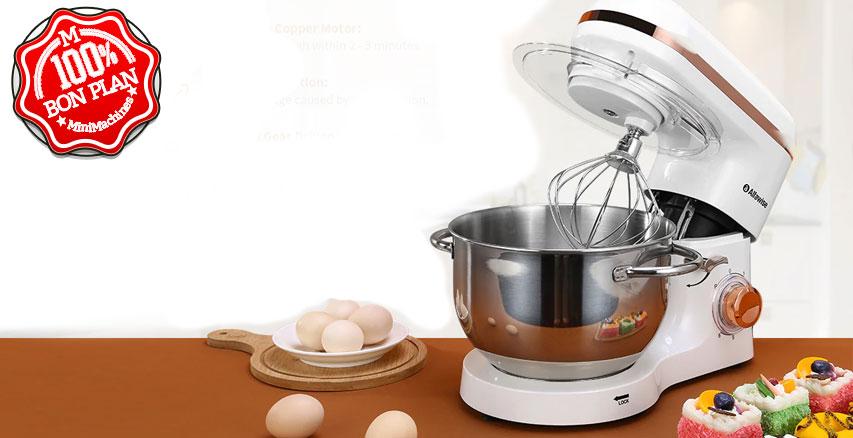 Robot de cuisine Alfawise SM-1518X Blanc 1500W