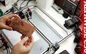 Alfawise C30, débuter la gravure laser