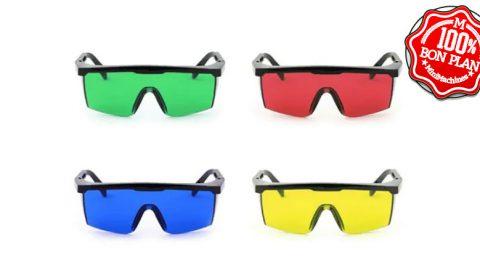 4 Paires de lunettes pour graveuse laser