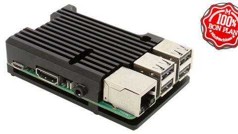 Dissipateur et châssis pour Raspberry Pi 3 Model B