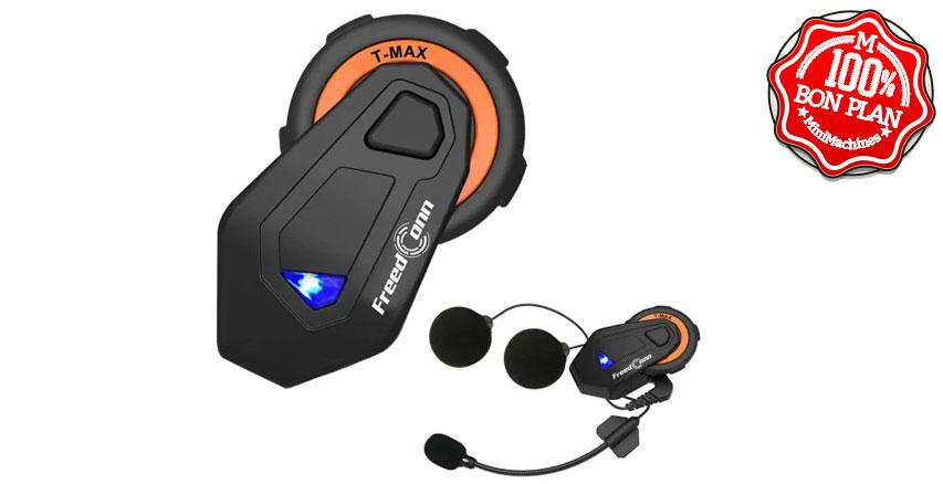 Intercom moto Bluetooth GoComma Freedconn T-MAX