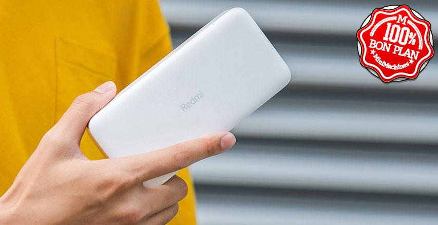 Batterie Xiaomi Redmi 20000 mAh Blanc