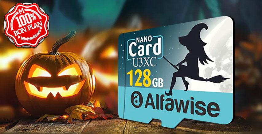 Carte MicroSDXC Alfawise U3XC 128 Go