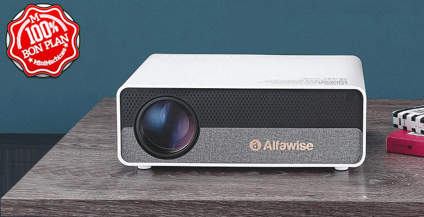 VidéoProjecteur Alfawise Q9 BD1080P FullHD