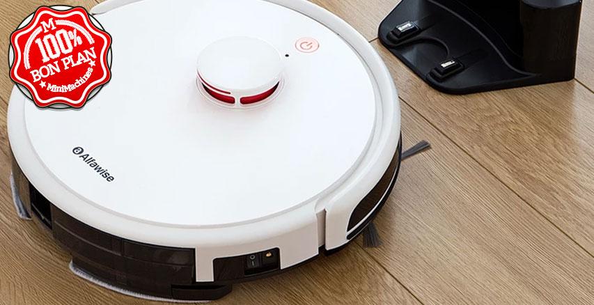Aspirateur robot Alfawise V9S BL517