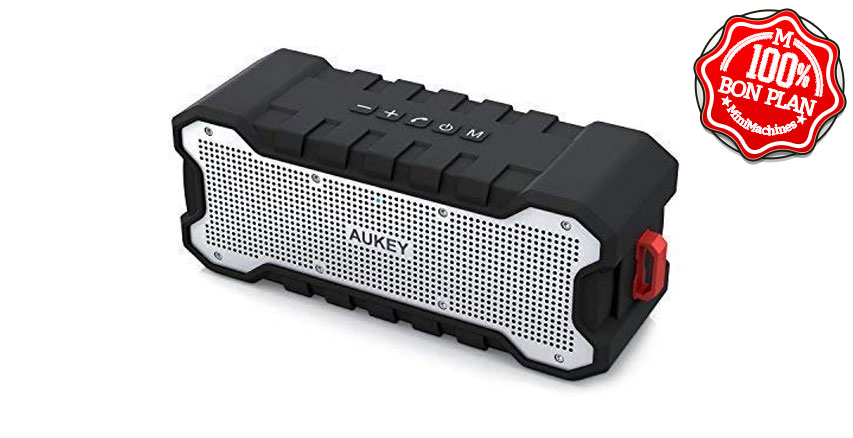 Enceinte Bluetooth Aukey Waterproof IPX7