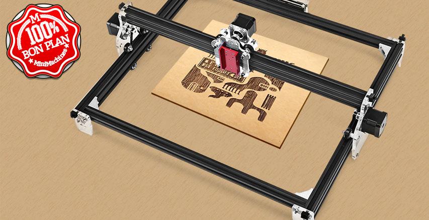 Support laser CNC Eazmaker LE-K1