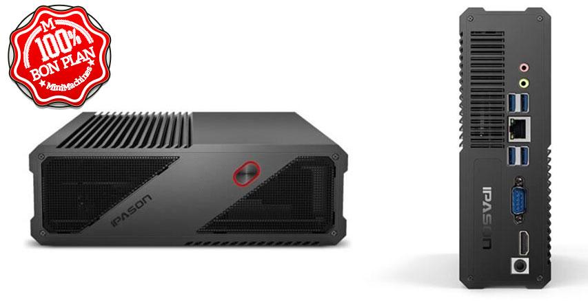 MiniPC Ipason F-Migrate AMD Ryzen 3 2200GE - 8/240Go évolutif