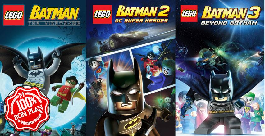 Jeux PC : Lego Batman Trilogy