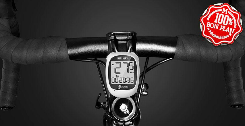 Ordinateur de vélo + GPS Meilan M3