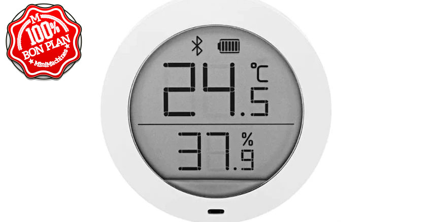 Thermomètre et Hygromètre connecté Xiaomi