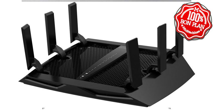 Routeur Wifi6 tri-band Netgear R8000P-100PES Nighthawk X6 AC3200