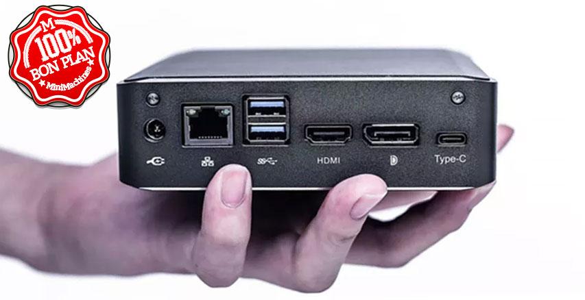 Barebone Nvisen Y-MU-01 i7-8565U DDR4 - M.2 - 2.5