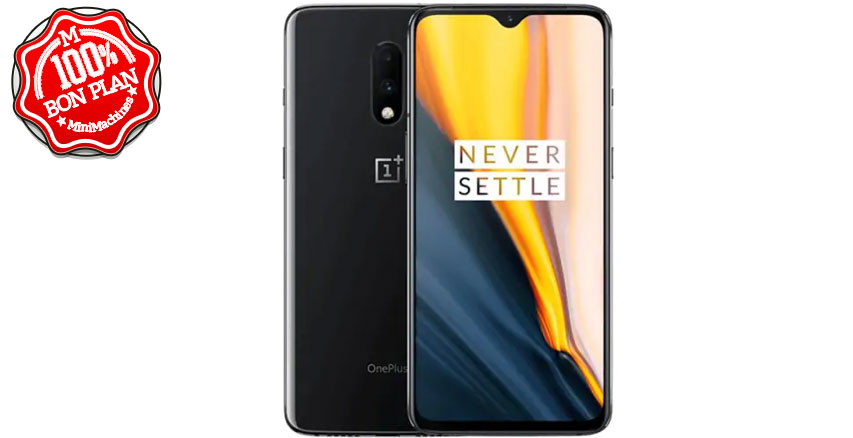 Smartphone OnePlus 7 8/256Go Gris International