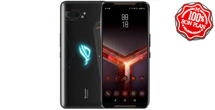 Smartphone ASUS ROG2 8/128Go Noir version internationale