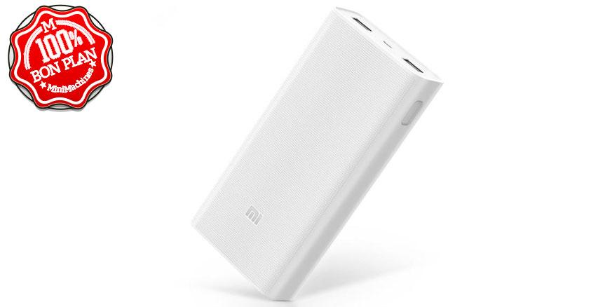 Batterie Xiaomi 20000 mAh Blanc