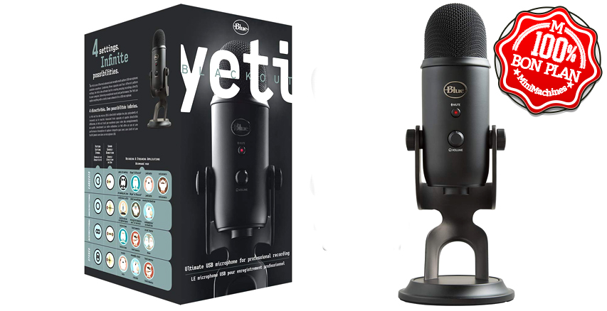 Microphone USB Blue Yeti