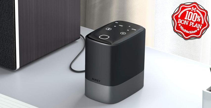 Émetteur / récepteur Bluetooth Aukey BR-O8