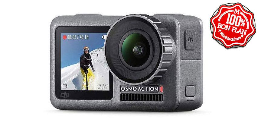 Camera sportive DJI Osmo Action Kit