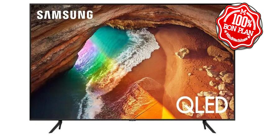 Téléviseur UHD QLED Samsung 55