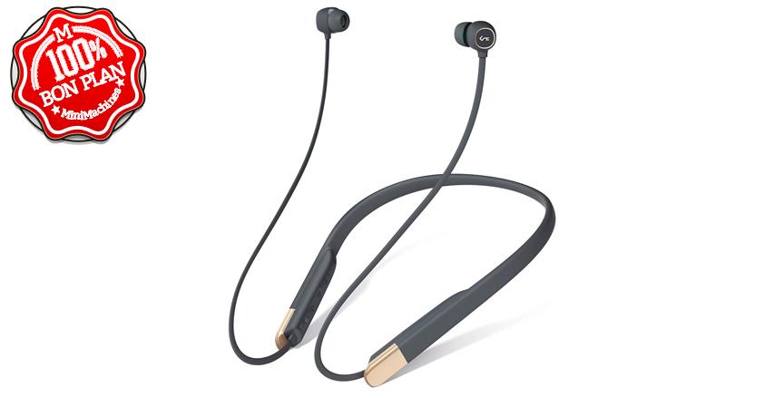 Ecouteurs Aukey Bluetooth 5.0 Aptx